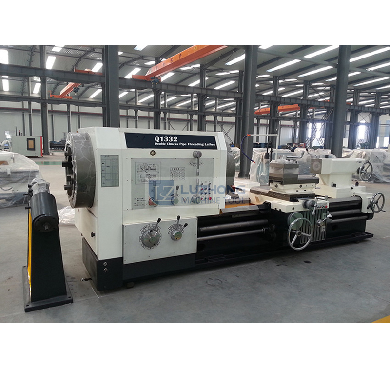Q1332 Pipe Threading Lathe Machine