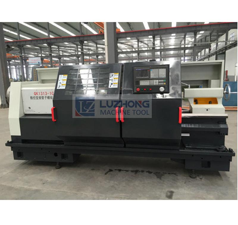 QK1313 CNC Pipe Threading Lathe Machine