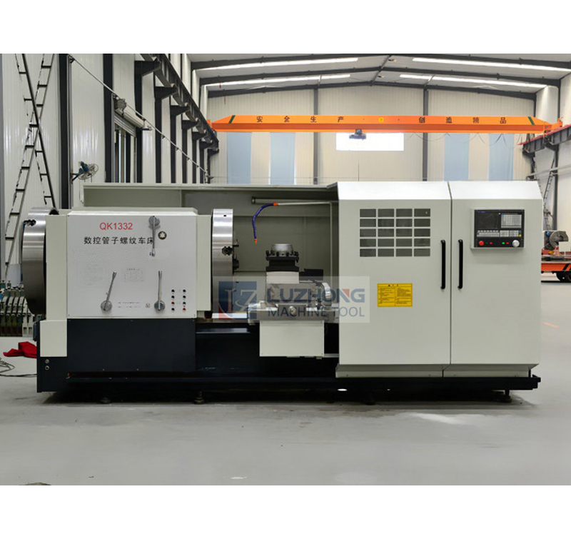 QK1332 CNC Pipe Threading Lathe Machine