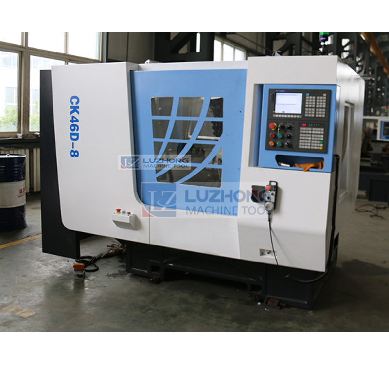CK46D-8 Slant Bed CNC Lathe Machine